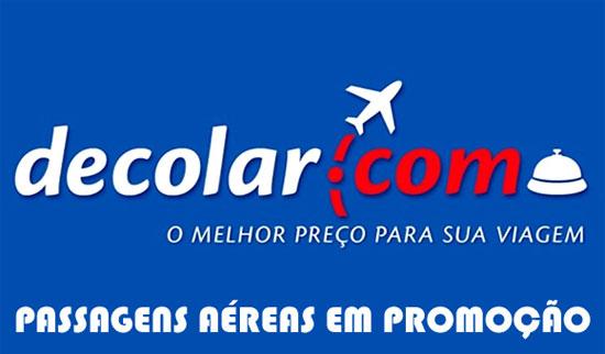 Passagens aéreas Decolar: Promoção